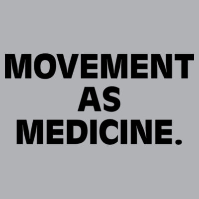 Movement as Medicine Light - Mens Chad Longsleeve Polo Design
